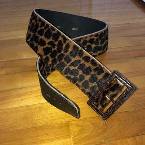 Vintage Leopard Belt🐆